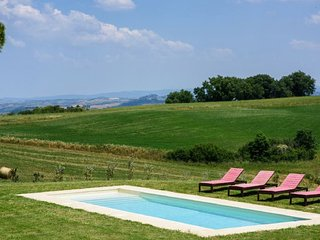 Buonconvento Villa Sleeps 6 with Pool Air Con and WiFi - 5218560