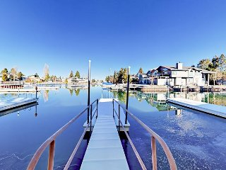 3BR Tahoe Keys Condo w/ Boat Dock ? Minutes to Ski Slopes