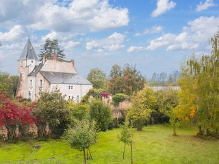 5 bedroom Chateau in Villeloin-Coulange, Centre, France : ref 5049842