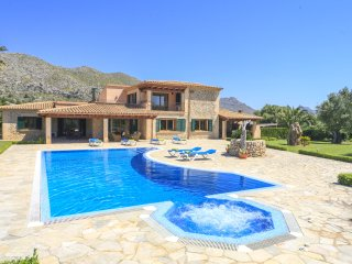 5 bedroom Villa in Cala San Vicente, Balearic Islands, Spain : ref 5049330