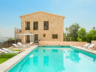 4 bedroom Villa in Galilea, Balearic Islands, Spain : ref 5049338