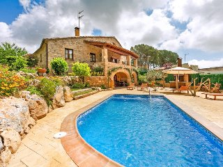 4 bedroom Villa in Les Cabanyes, Catalonia, Spain : ref 5049254