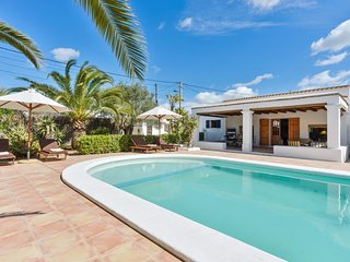 3 bedroom Villa in Es Viver, Balearic Islands, Spain : ref 5047756