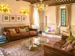 Chamborigaud Chateau Sleeps 18 with Pool - 5049489