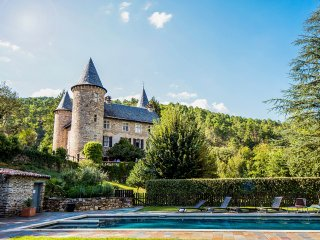 10 bedroom Chateau in Chamborigaud, Occitania, France : ref 5049489