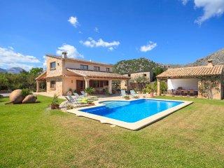 4 bedroom Villa in Pollença, Balearic Islands, Spain : ref 5049334