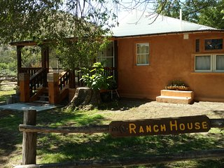 Restored 1920's Territorial Style New Mexico Ranch House Headquarters