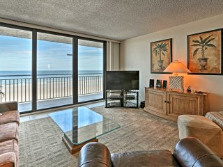 NEW! Beachfront 2BR New Smyrna Beach Condo w/Pool!