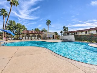 NEW! 1BR Desert Hot Springs Condo w/ Pool Access!