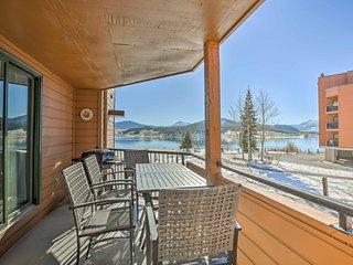 Lakefront Dillon Condo w/Deck -By Breck & Keystone