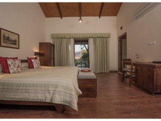 Well appointed bedrooms with king size beds and are air-conditioned
