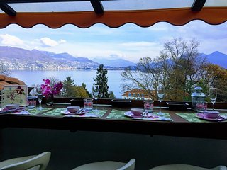 Alessia apartment in Baveno with three bedrooms and lake view