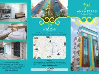 muratpaşa, Antalya 1+1 eşyalı kiralık daire