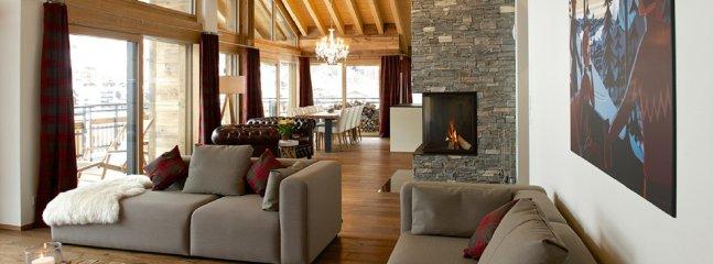 Luxury Chalet In The Heart Of Zermatt With 4 Bedrooms