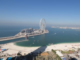Amazing Sea View! Spacious 2Bed in JBR + pool & gym