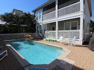 New listing in Crystal Beach! Three bedroom home with PRIVATE POOL!!!