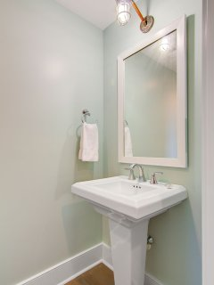 Attached Guest Bathroom!