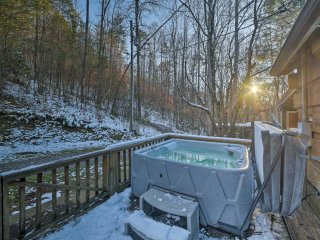 Secluded Tellico Plains Cabin on 25 Private Acres!