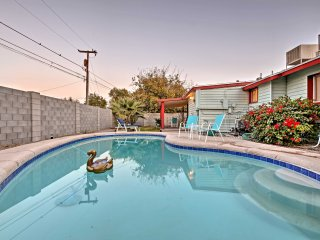 Chic Casa Grande Home w/ Private Pool & Backyard!