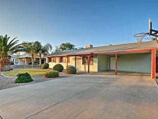 Chic Casa Grande Home w/ Private Pool & Backyard!