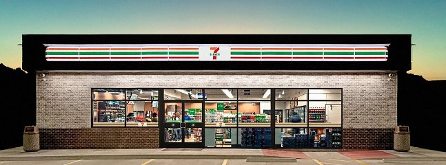7-Eleven convenient store for small food items, candy, drinks etc. just a short walk from the house