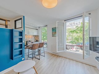 Cosy/renovated flat for 4p at Grands Boulevards