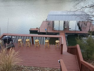 Lake House with Dock in Quiet Cove - Sleeps 12