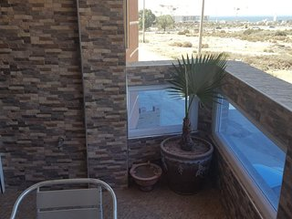 TAMRAGHT 400 METERS FROM BEACH APARTMENT NO.1 WITH VIEW