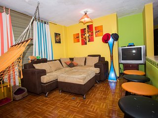 Entire apartment laundry incl. in central Quito