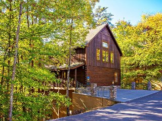 ONE-OF-A-KIND GORGEOUS & SPACIOUS LUXURY 3/5 CABIN IN UNBEATABLE LOCATION!!