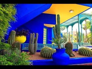 The Yves-Saint Laurent APART  -Museum and Majorelle Park