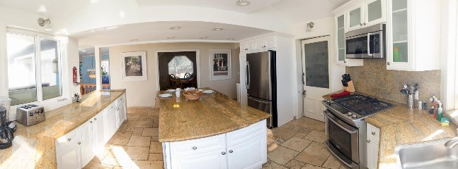 Kitchen Facing the Den Penthouse