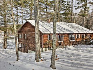 NEW! 4BR Home on Androscoggin Lake w/ Boat Slip!