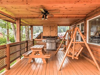 NEW! 2BR Polson Cabin by Flathead Lake w/ Deck!