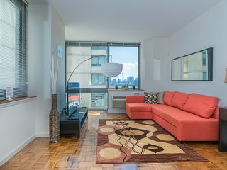 AMAZING NYC VIEWS-2B 2BA APT,LUXURY BUILDING-ZEN SUITES-38QA