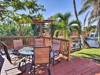 Waterfront Merritt Island Home w/ Furnished Deck!