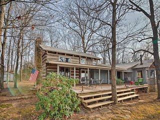 NEW! 3BR Cumberland Mtn. Cabin w/ Views
