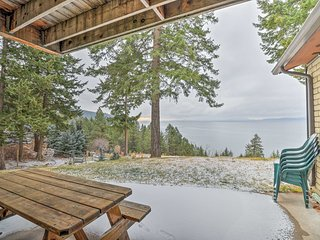 Private Bigfork Home Overlooking Flathead Lake!