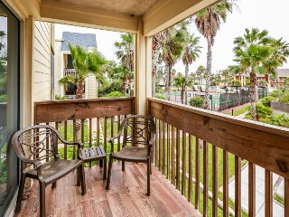 Dog-friendly, waterfront condo with shared pools, hot tubs, and more!