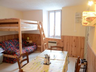 Résidence de tourisme ' Aux Volets bleus d'Aulus ' Le petit espace détente