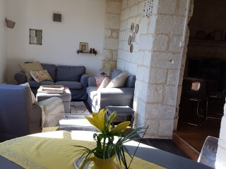 CHARMING FAMILY HOUSE IN AUBETERRE, STUNNING VIEW