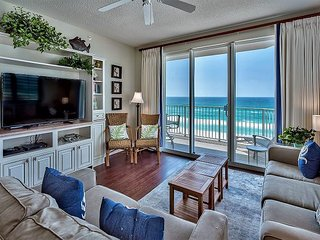Unobstructed GULF VIEW DLX Beach Condo *Resort Pools/HotTubs + FREE VIP Perks