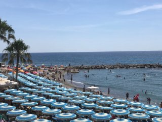 Nido del Gabbiano monolocale direttamente sul mare