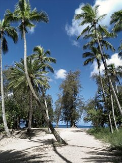 The North Shore has many secluded places to explore, swim and relax.