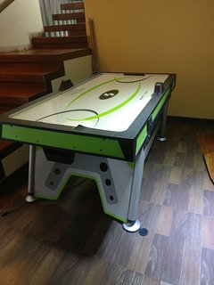 Air Hockey for more thrill in life... shoot a goal and announce your victory in ecstacy...