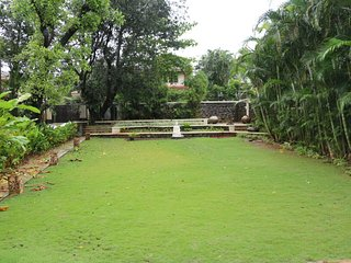 3 BHK Villa with swimming pool, lawns, games den, disco.