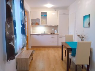 Studio apartment Wallas with kitchen and private bathroom