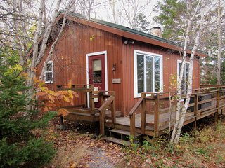 Mountain Vista: a cozy cabin near Acadia National Park