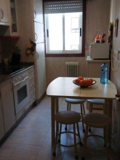 cocina,mesa extendida