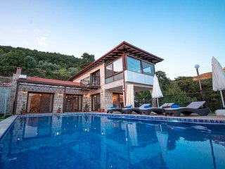 Stunning New Secluded Two Bedroom Villa Abihayat with Large Pool KAV411